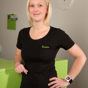 Physiotherapeutin Doreen Hirn